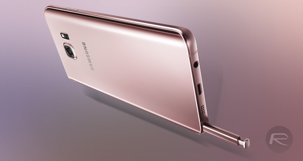 Samsung Introduces Two New Galaxy Note 5 Phablets
