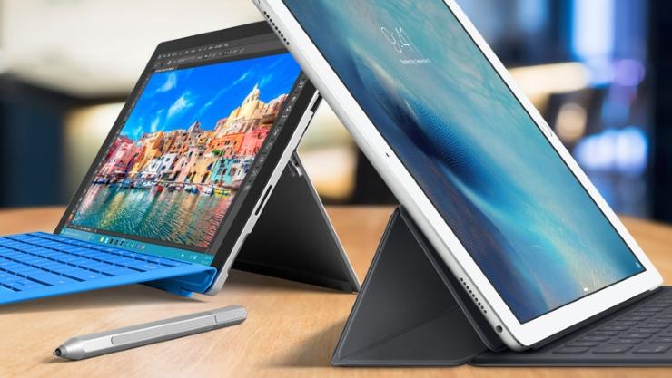 Microsoft Surface Pro 4 Vs. Apple iPad Pro: Comparison