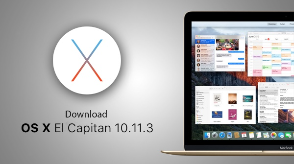 Apple Releases OS X 10.11.3 Beta 1for Testing