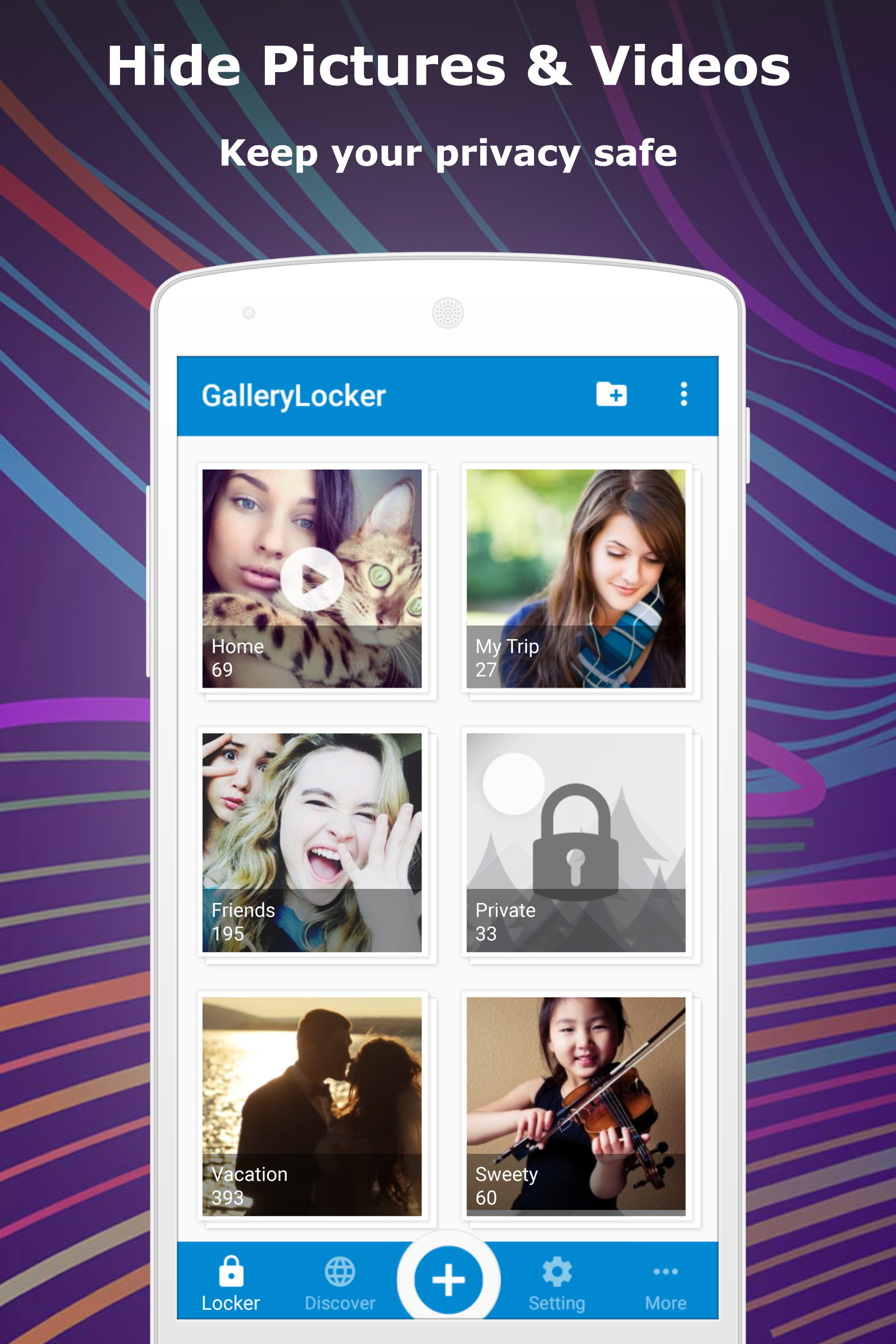 How to lock/hide/protect my files in Android Smartphone? | App3k