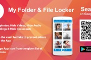 Lock & Hide personal files and safegaurd your privacy with the best authenticated File & Folder Locker App