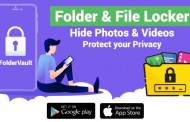 Preserve your memories using Folder Vault (FV) Photo & Video Locker